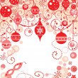 Stock Vector: xmas background