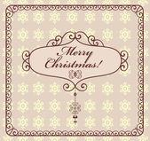 Christmas label — Stock Vector