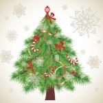 Xmas tree — Stock Vector