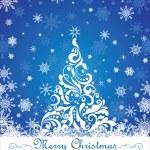 Greeting christmas card — Stock Vector