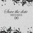 Wedding invitation — Stock Vector