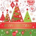Christmas card — Stock Vector #19952657