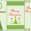 Stock Vector: Christmas vertical banners