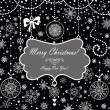 Royalty-Free Stock Vector Image: Vintage christmas card