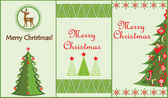 Christmas vertical banners — Stock Vector