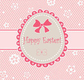 Cute easter card — Stock Vector