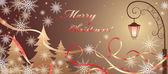 Noel sihirli başlık sayfası — Stok Vektör