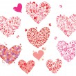 Greeting hearts — Stock Vector
