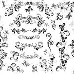 Vintage design elements — Stock Vector #20032181