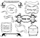 Design vintage — Vettoriale Stock