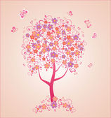 Beautiful tree — Stock Vector