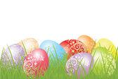 Colorful easter eggs — Cтоковый вектор