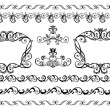 Decorative borders — Stok Vektör #20065879
