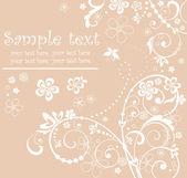 Cartão pastel — Vetorial Stock