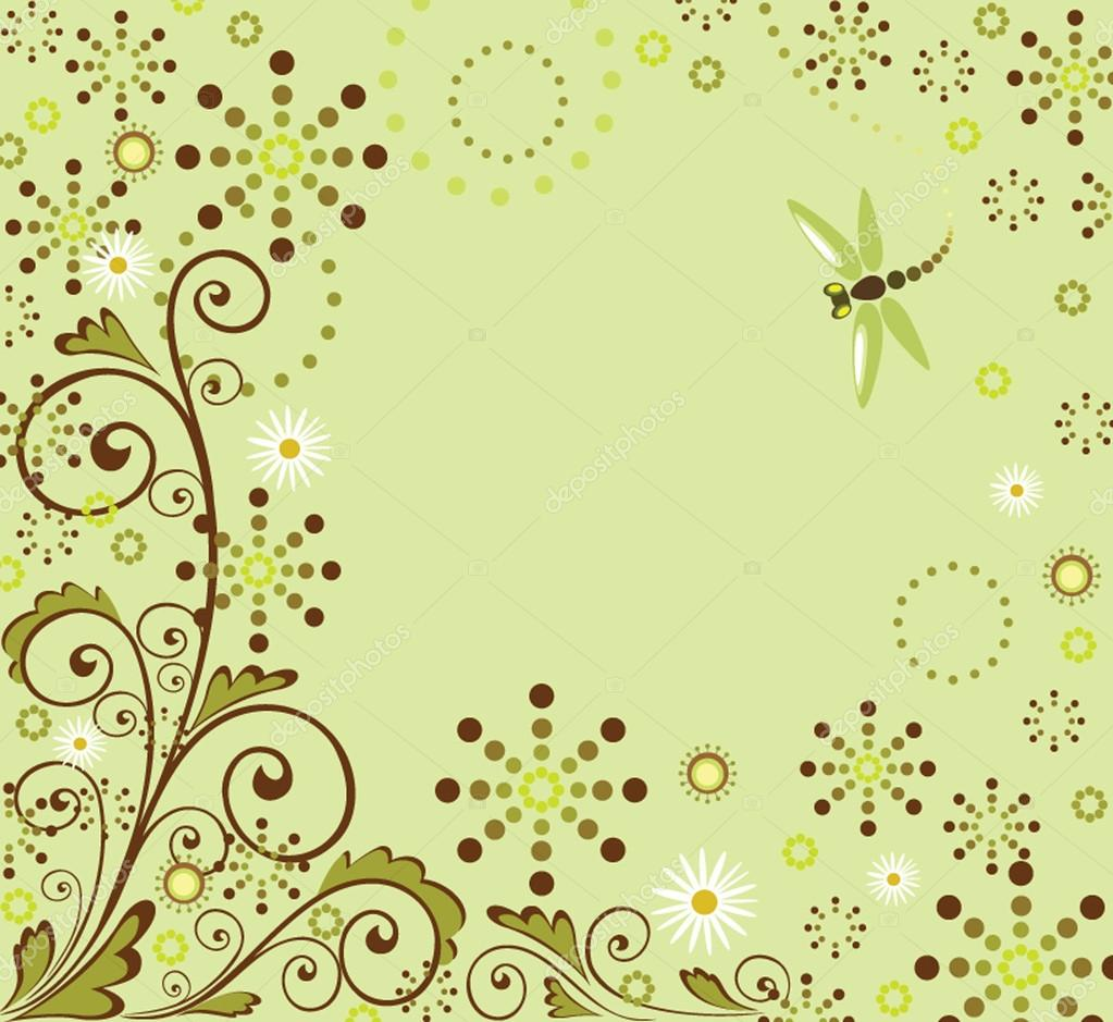 Abstract green background — Stock Vector #20065843