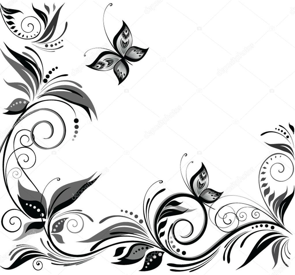 Wedding White Background: Wedding Background (black And White).