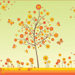 autumn tree — Stock Vector #21040345