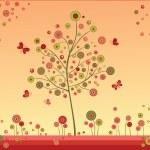 Summer tree — Stock Vector #21040379