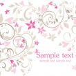 Beautiful greeting postcard - Imagen vectorial