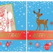 Xmas cards — Stock Vector #21050003