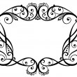 Vector de stock : Decorative frame