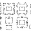 Stock vektor: Decorative frames