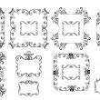 Decorative frames — Stock Vector