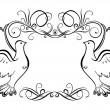 Wedding frame - Stock Vector