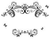 Decorative frame — Stock Vector