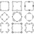 Decorative frames — Image vectorielle