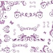 Set of beauty floral elements - Stockvectorbeeld