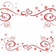 Royalty-Free Stock Obraz wektorowy: Red holiday border