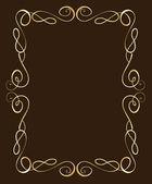 Złoty stelaż — Wektor stockowy