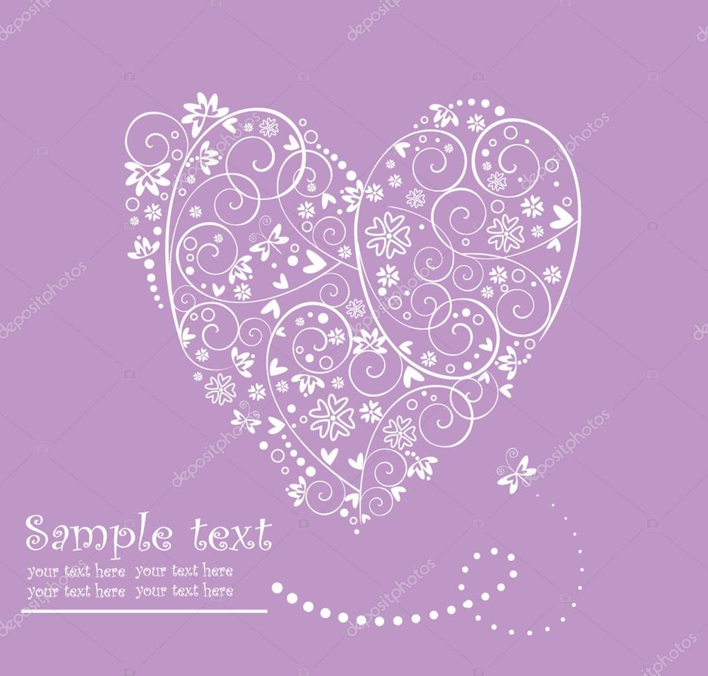 Wedding card — Stock Vector #21291553
