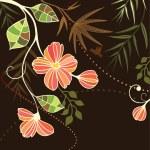 Floral vintage frame — Stock Vector #21381181