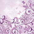 Beauty floral lilac background — Stock Vector #21437243