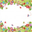 Stock Vector: Spring background