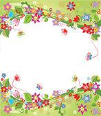 весенний фон — Cтоковый вектор