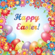 Stock vektor: Easter card