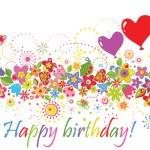 Happy birthday! — Stockvector