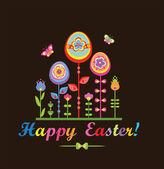 Jasne okolicznościowe Wielkanoc — Wektor stockowy