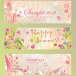 Summer banners — Stock Vector #24639599