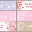 Arrival horizontal greeting banners — Vector de stock #25548241