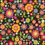 Vintage seamless floral wallpaper — Stock Vector