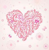 Grappige hart — Stockvector