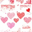 Design for Valentines Day party — Stock Photo