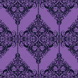 Damask seamless wallpaper — Stock Photo