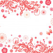 Red valentine card — Stockfoto #35667221