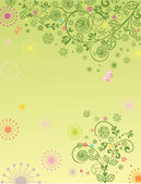 Abstract floral background — Stockfoto