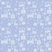 Blue winter wallpaper — Stock Photo